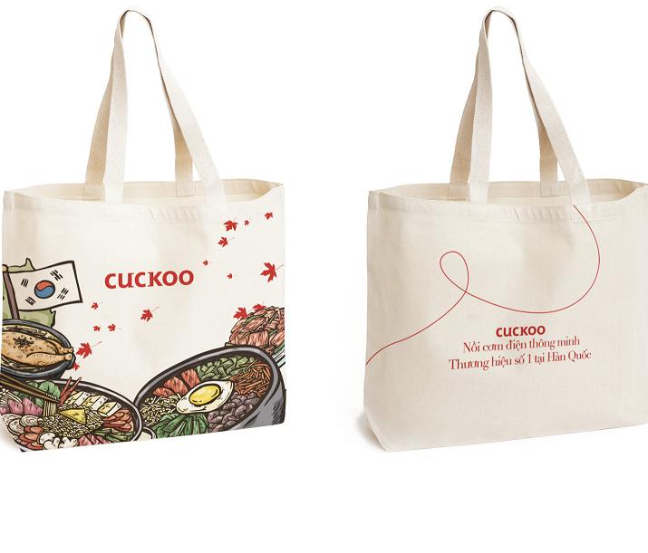 Túi vải bố cuckoo Nhật Bản – TVB 015