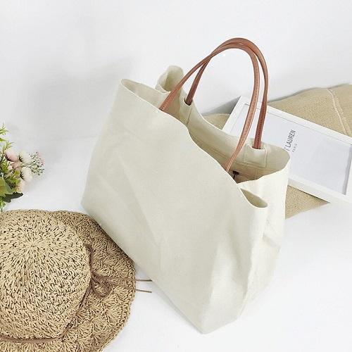 Túi vải bố dây da – TVB 21
