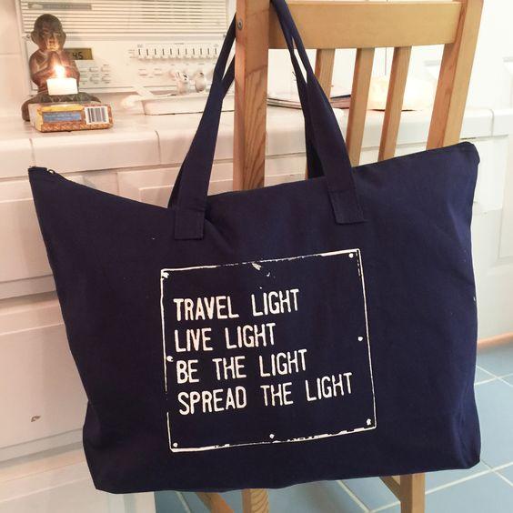Túi vải ngang in chữ – TN 009