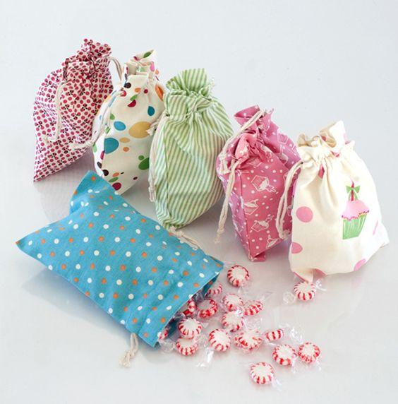 Túi dây rút vải hoa – TDR 013