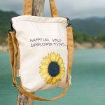 Túi vải ngang hoa hướng dương – TN 006